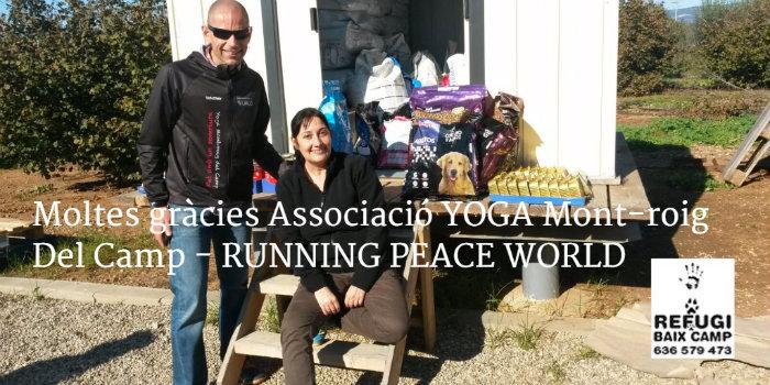 Agraïm A L'Associació IOGA Mont-roig Del Camp