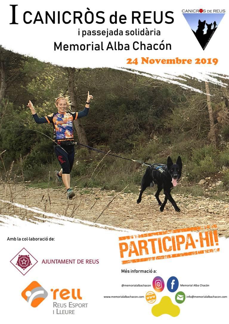 INSCRIPCIONS I Canicròs I Passejada Solidària – Memorial ALBA CHACÓN